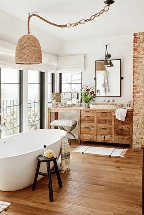 Idée décoration Salle de bain - ambiance cocooning, grandes ...