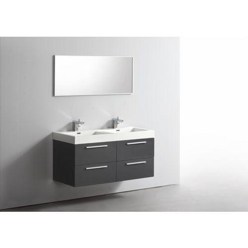 Idée Décoration Salle De Bain Ensemble Meuble Salle De Bains - Ensemble meuble salle de bains double vasque 120 cm
