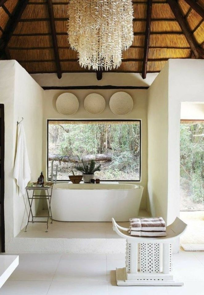 description idees salle de bain deco - Deco Salle De Bain Bambou