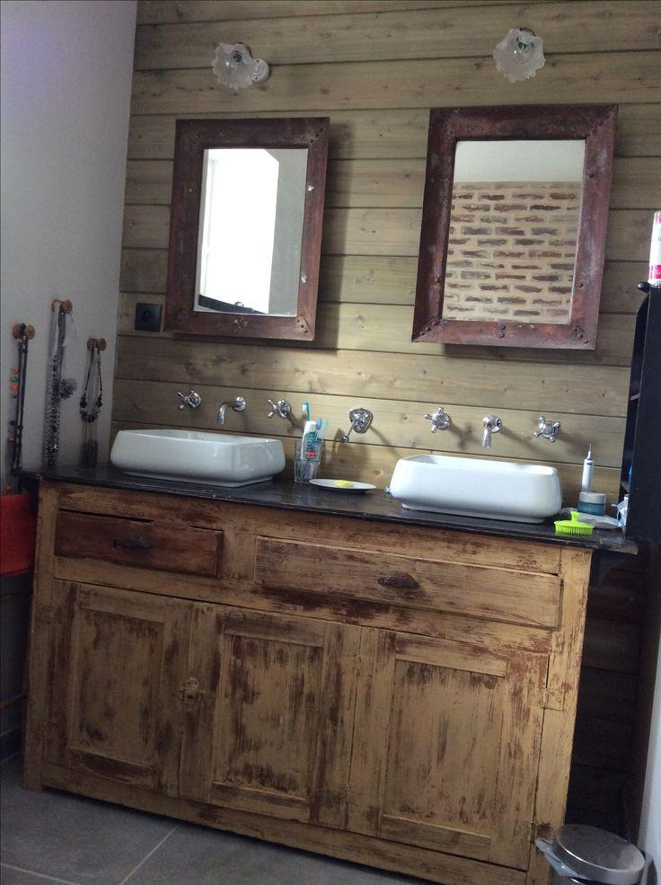 salle de bain retro chic beautiful deco salle de bain vintage une salle bain zen avec une. Black Bedroom Furniture Sets. Home Design Ideas