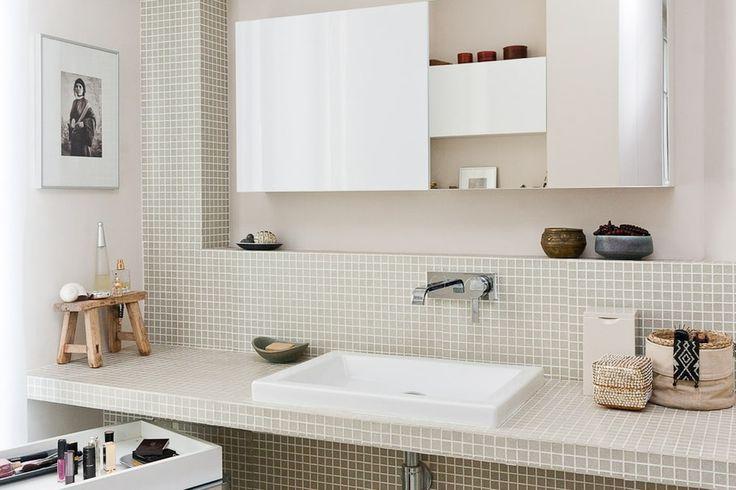 Idée décoration Salle de bain - Salle d\'eau minérale ...