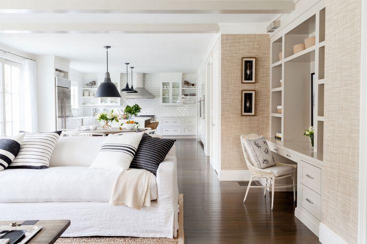 Salle A Manger Westport Modern Farmhouse Living Room Dining Kitchen Open Concept