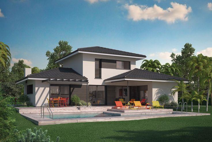 Modèle De Maison Villa Florida Présenté Sur ConstruireSaMaison.com
