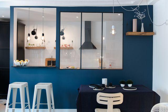 Id e relooking cuisine cuisines semi ouvertes sur le for Idee cuisine ouverte sur salle a manger