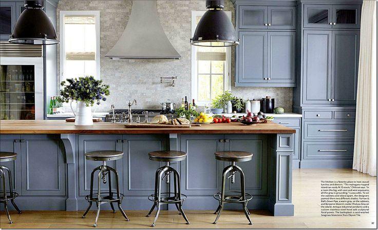 salle à manger - idées de déco pour une cuisine de style moderne ... - Decoration Salle A Manger Rustique