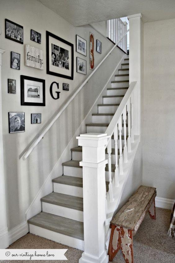 Dco Salon Dcoration Mur Escalier