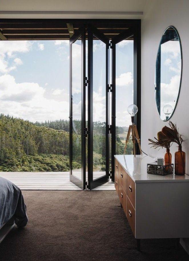 d co salon jolie porte accordeon interieur en verre pour la chambre a coucher avec vue. Black Bedroom Furniture Sets. Home Design Ideas
