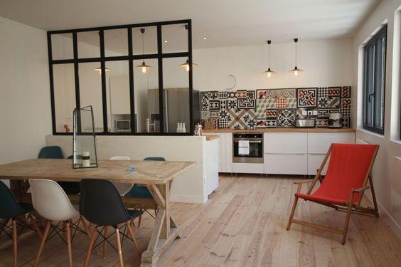Cuisine En U Ouverte Sur Salon Cuisine En U Moderne Et Design En