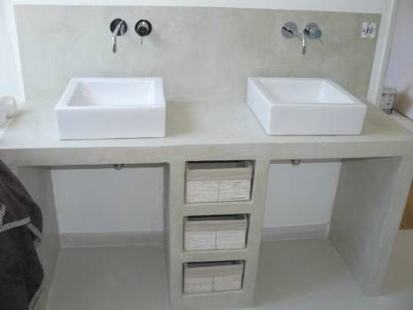 idée décoration salle de bain - beton cellulaire ... - listspirit ... - Beton Cellulaire Salle De Bain