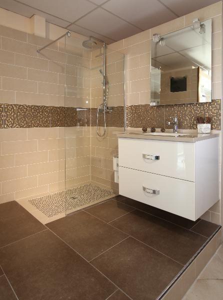 idée décoration salle de bain - douche à l'italienne, lille, douai ... - Salle De Bain Douche Al Italienne