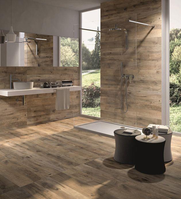 Idée décoration Salle de bain - salle de bain design revetie ...