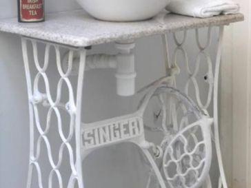 Id e d coration salle de bain plaque salle de bain bois flott les grands bancs listspirit - Cree un meuble salle de bain en dur ...