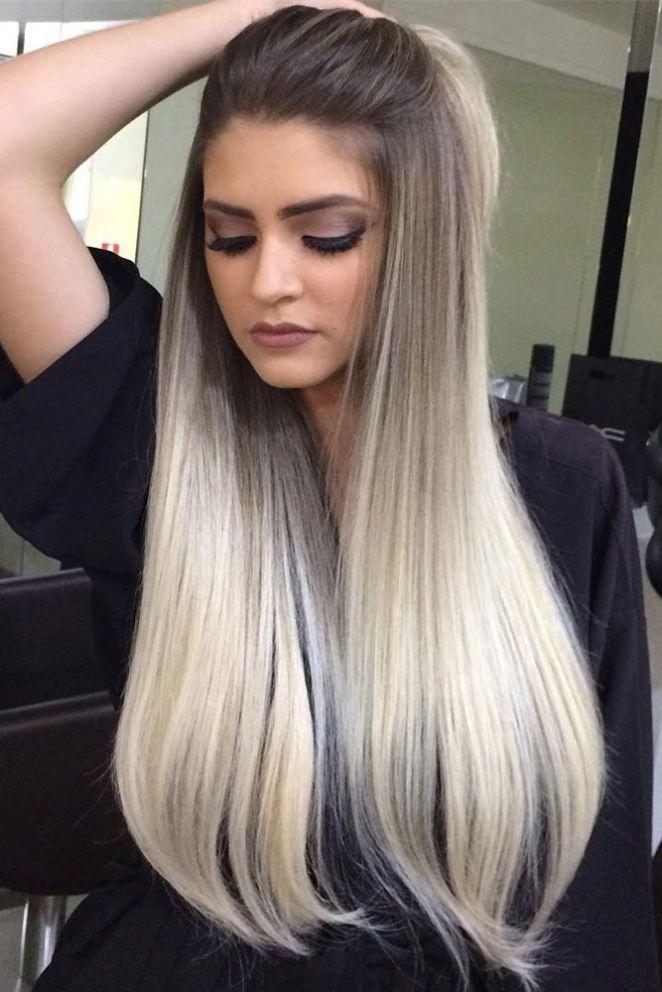 nouvelle tendance coiffures pour femme 2017 2018 blonde ombre sur les cheveux moyens et. Black Bedroom Furniture Sets. Home Design Ideas