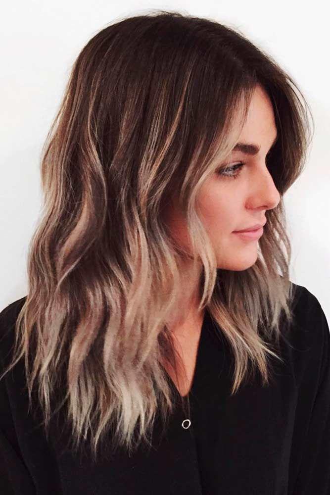 Nouvelle couleur de cheveux a la mode