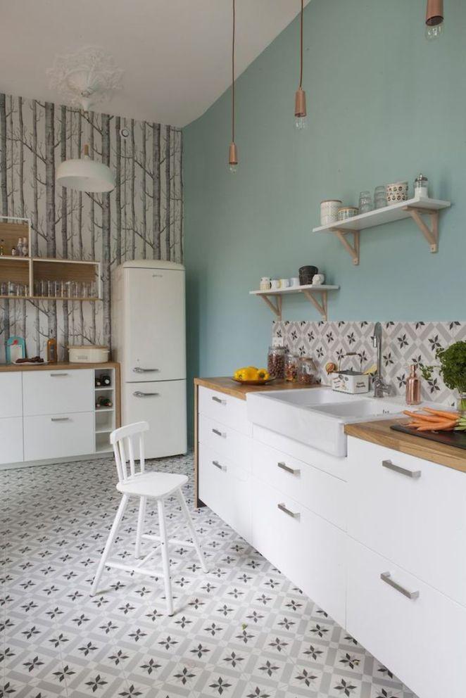 relooking et d coration 2017 2018 relooking cuisine tendance peinture bleu pastel. Black Bedroom Furniture Sets. Home Design Ideas