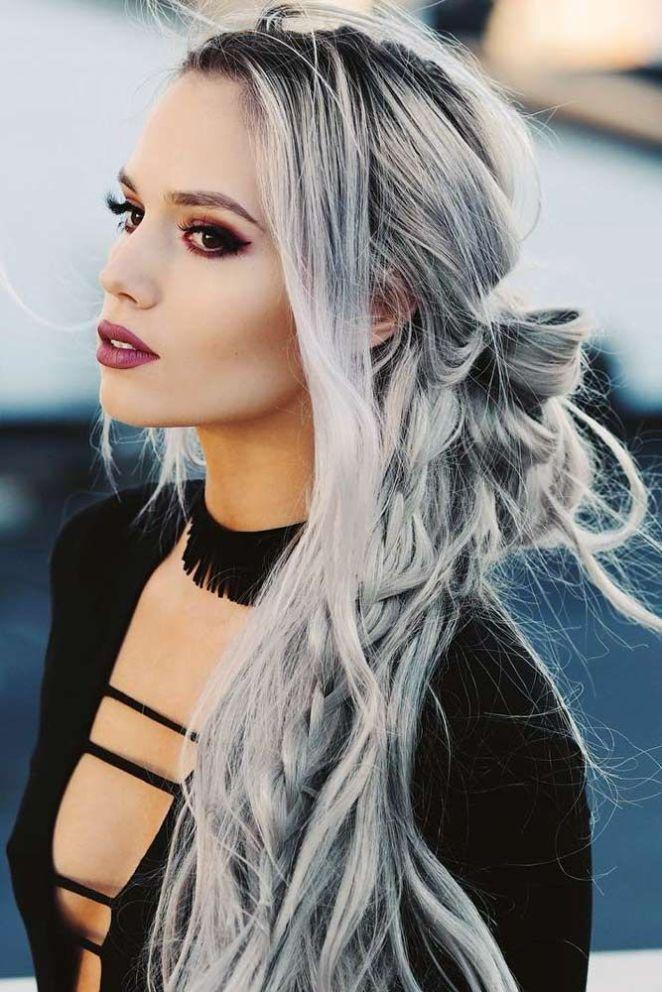 Nouvelle tendance coiffures pour femme 2017 2018 voir plus d 39 id es pour votre maquillage et - Tendance coiffure 2017 2018 ...