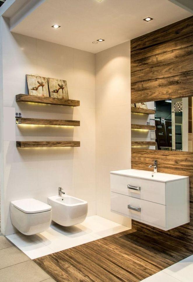 idée décoration salle de bain - salle de bains moderne avec ... - Decoration Carrelage Mural Salle De Bain
