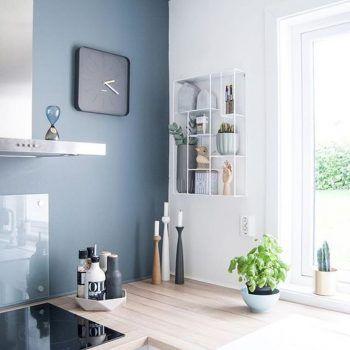 D co salon bleu gris couleur de l 39 ann e 2017 dulux valentine leading - Decoration salon 2017 ...