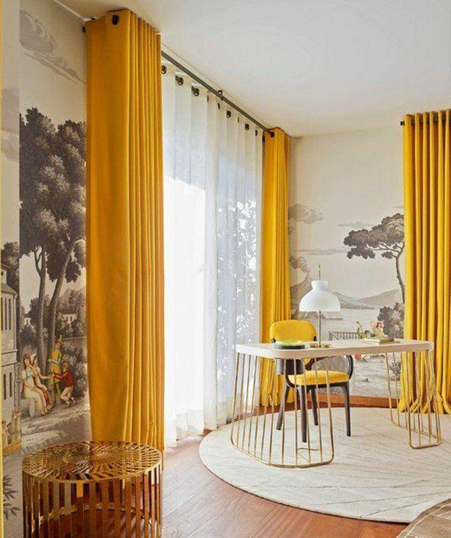 D co salon joli salon lumineux aux murs en papier peint - Salon lumineux ...