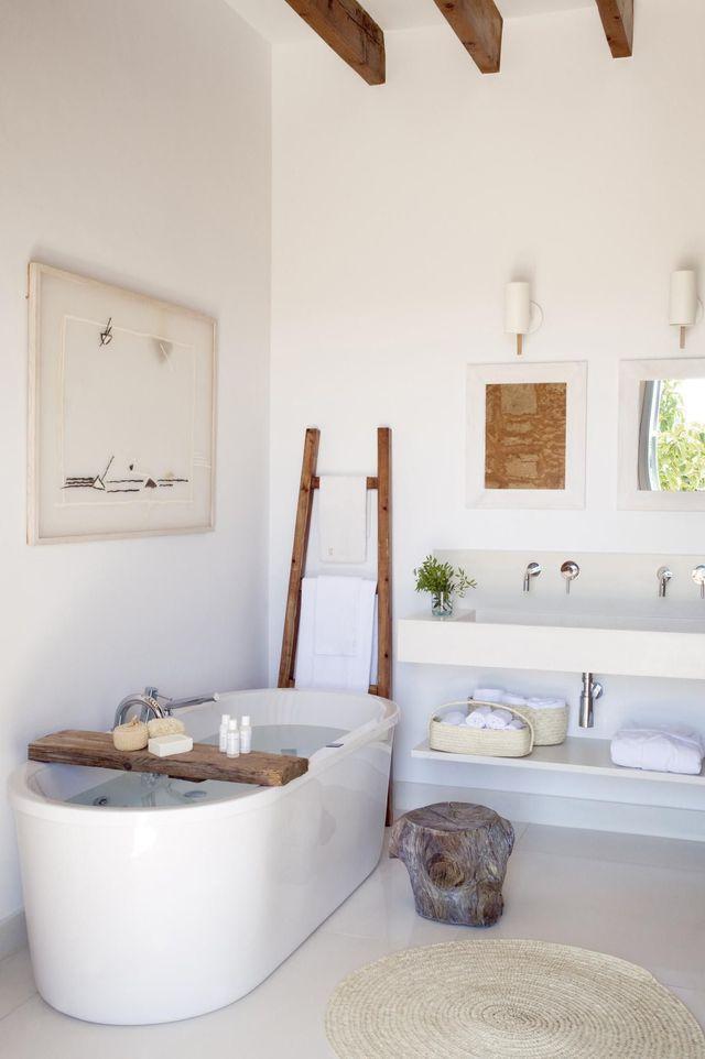 Idée décoration Salle de bain - 12 salles bains blanches pour s ...