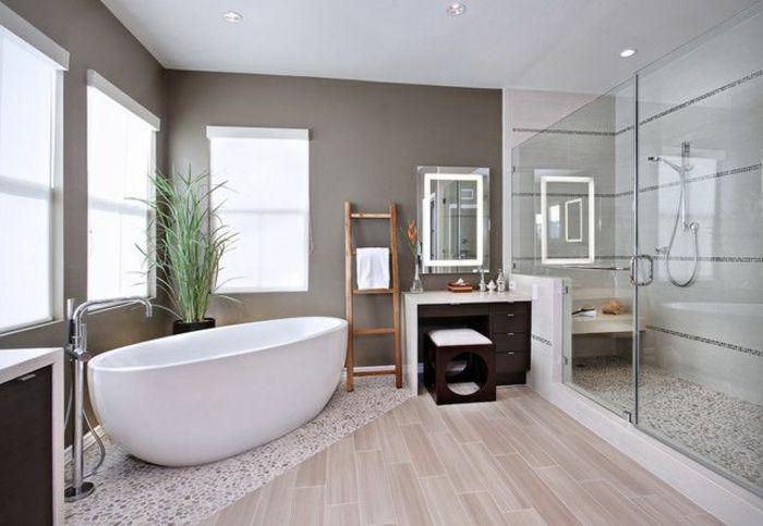 Description. salle de bain zen bambou deco