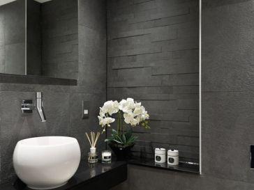 Id e d coration salle de bain ensemble meuble de salle - Meuble salle de bain avec lave linge integre ...