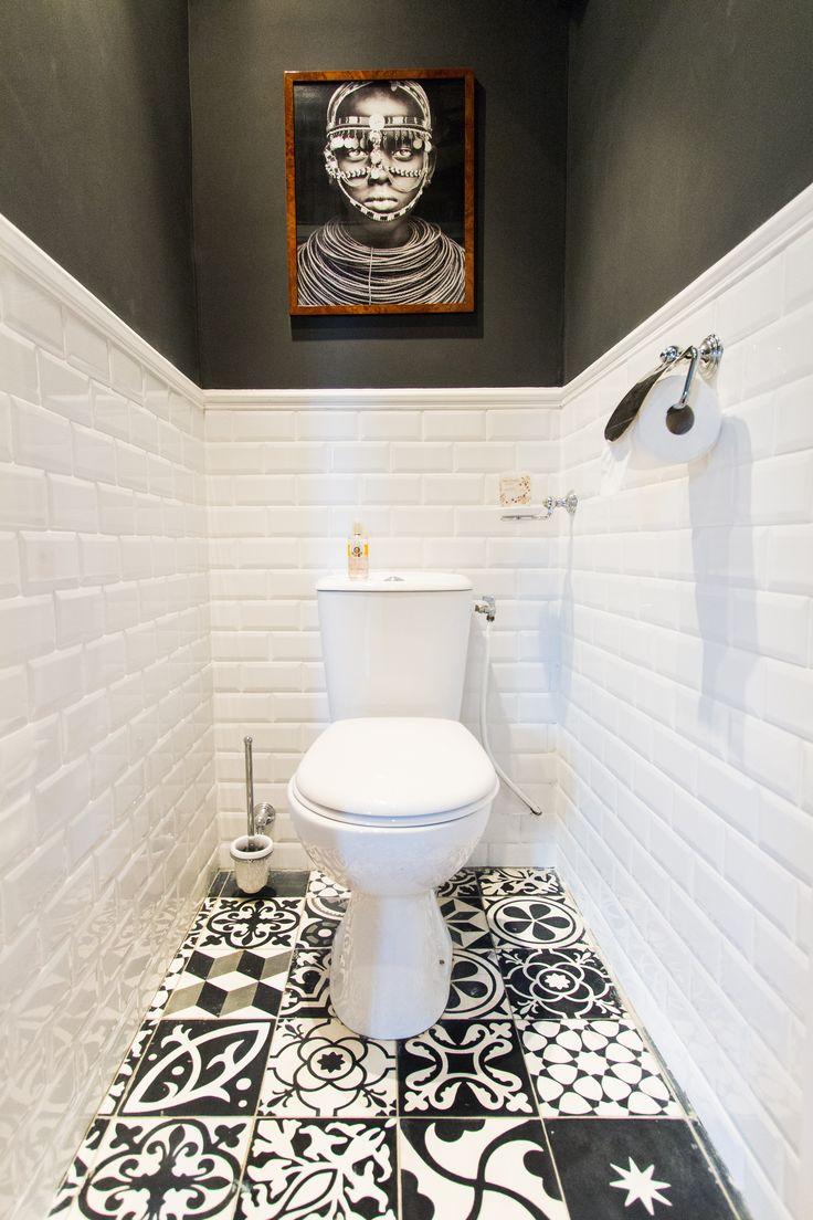 Deco salle noir et blanc fashion designs for Idee deco salle de bain noir et blanc