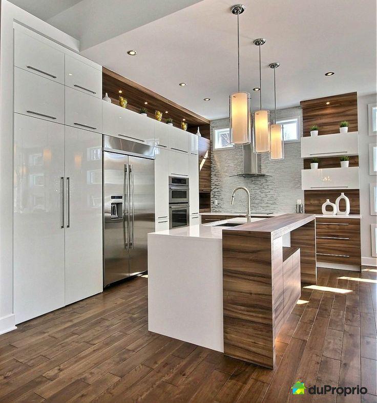 Id e relooking cuisine cuisine moderne de r ve - Idees de design cuisine moderne a domicile ...