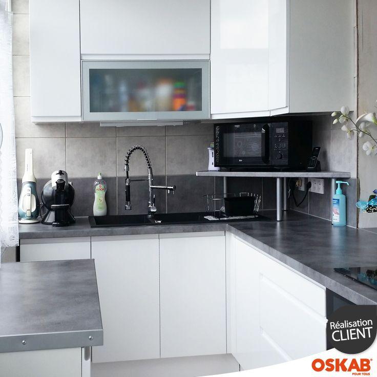 idee relooking cuisine petite cuisine amenagee en l avec With idee deco cuisine avec modele cuisine amenagee