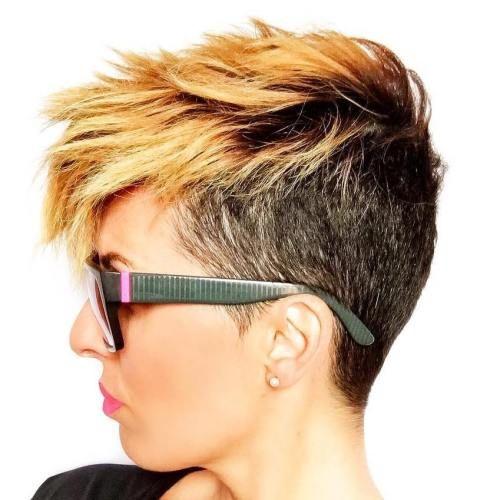 coupe courte cheveux femme 2018