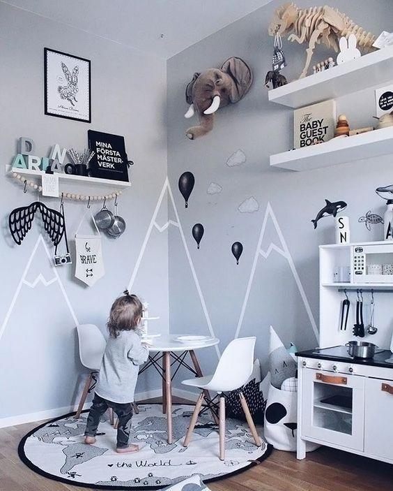 Relooking et d coration 2017 2018 une chambre d 39 enfant for Decoration chambre nouveau ne
