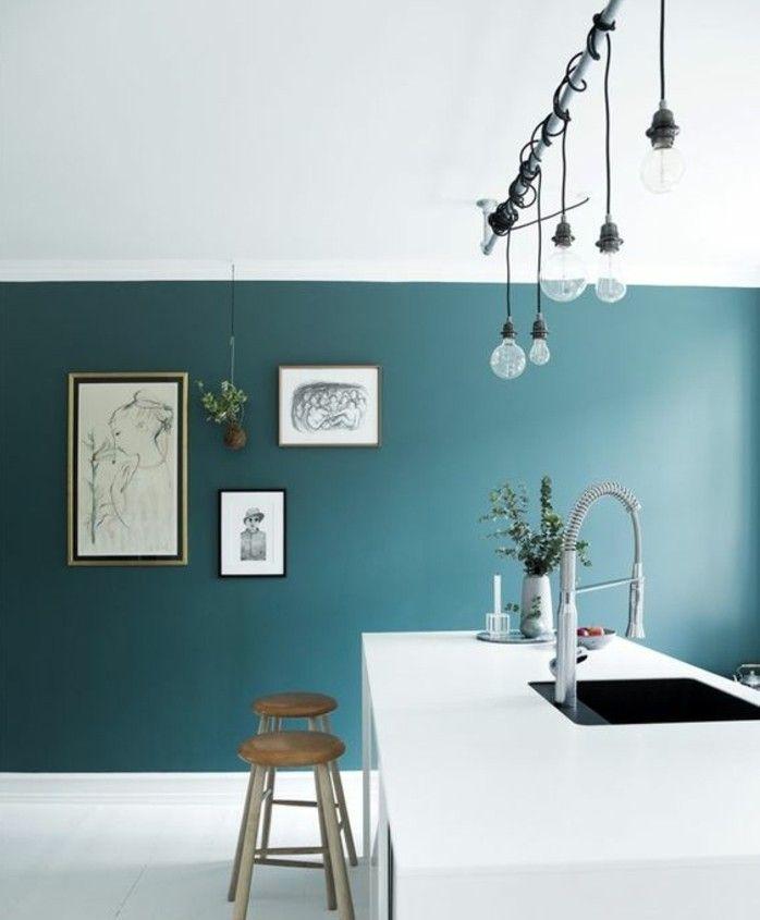 D co salon modele cuisine artistique couleur peinture for Modele couleur cuisine