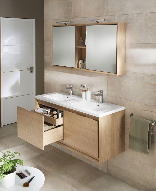 salle de bain beige blanc bois bright