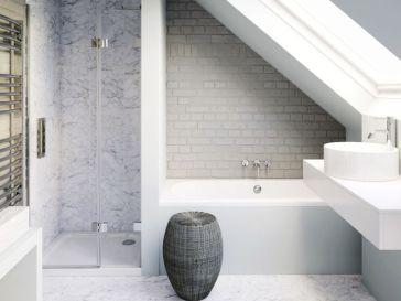 Id e d coration salle de bain des id es de petit rangement pas cher pour l appartement - Idee deco betegelde badkamer ...