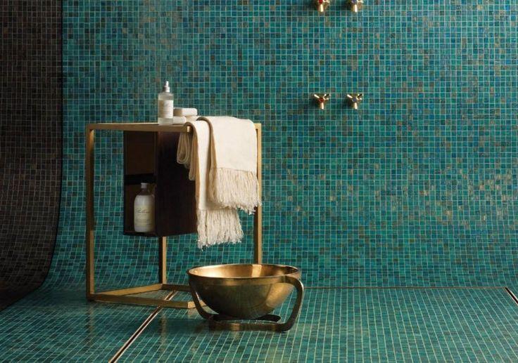 Idée décoration Salle de bain - salle de bain vintage superbe avec ...