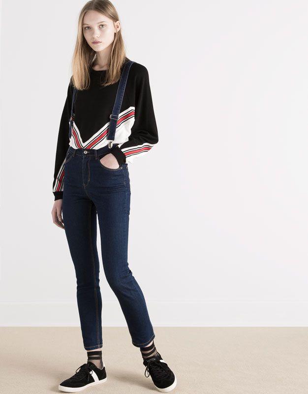 mode 2018 femme jeans jean tendance femme 2017. Black Bedroom Furniture Sets. Home Design Ideas