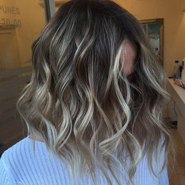 Coupe couleur cheveux long 2018
