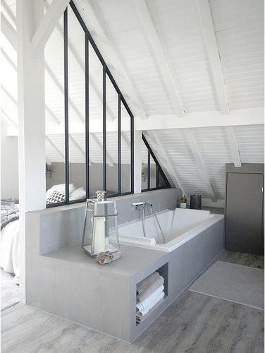Idée Décoration Salle De Bain Angélique AnneCamille - Cote maison salle de bain