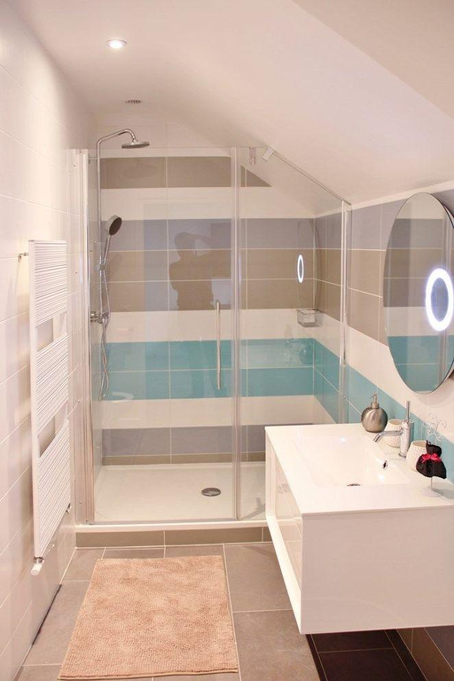 id e d coration salle de bain maison luxe gres cerame saloni grande douche paroi de douche sur. Black Bedroom Furniture Sets. Home Design Ideas