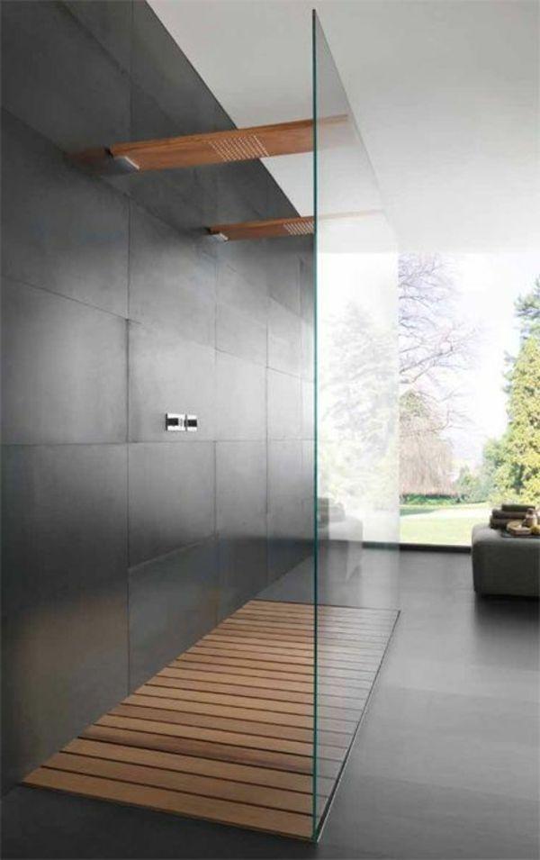 receveur de douche en bois amazing bureau chene massif u. Black Bedroom Furniture Sets. Home Design Ideas