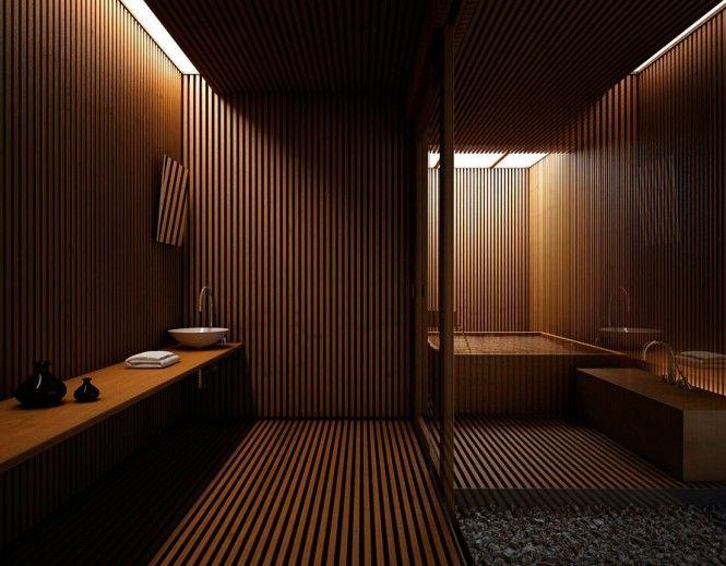 Idée décoration Salle de bain - une salle de bains ultra moderne ...