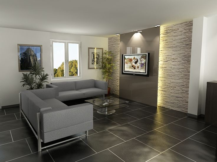 ide relooking cuisine dcoration salon mur en pierre - Idee Deco Salon Avec Mur Pierre