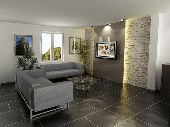 id e relooking cuisine d coration salon mur en pierre leading inspiration. Black Bedroom Furniture Sets. Home Design Ideas
