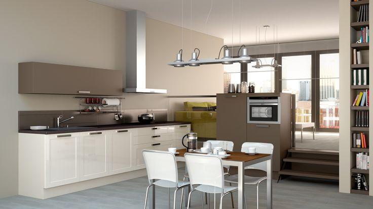 Id e relooking cuisine schmidt keuken type 39 mikado 39 in combinatie met type 39 loft 39 in d - Idee deco keuken ...