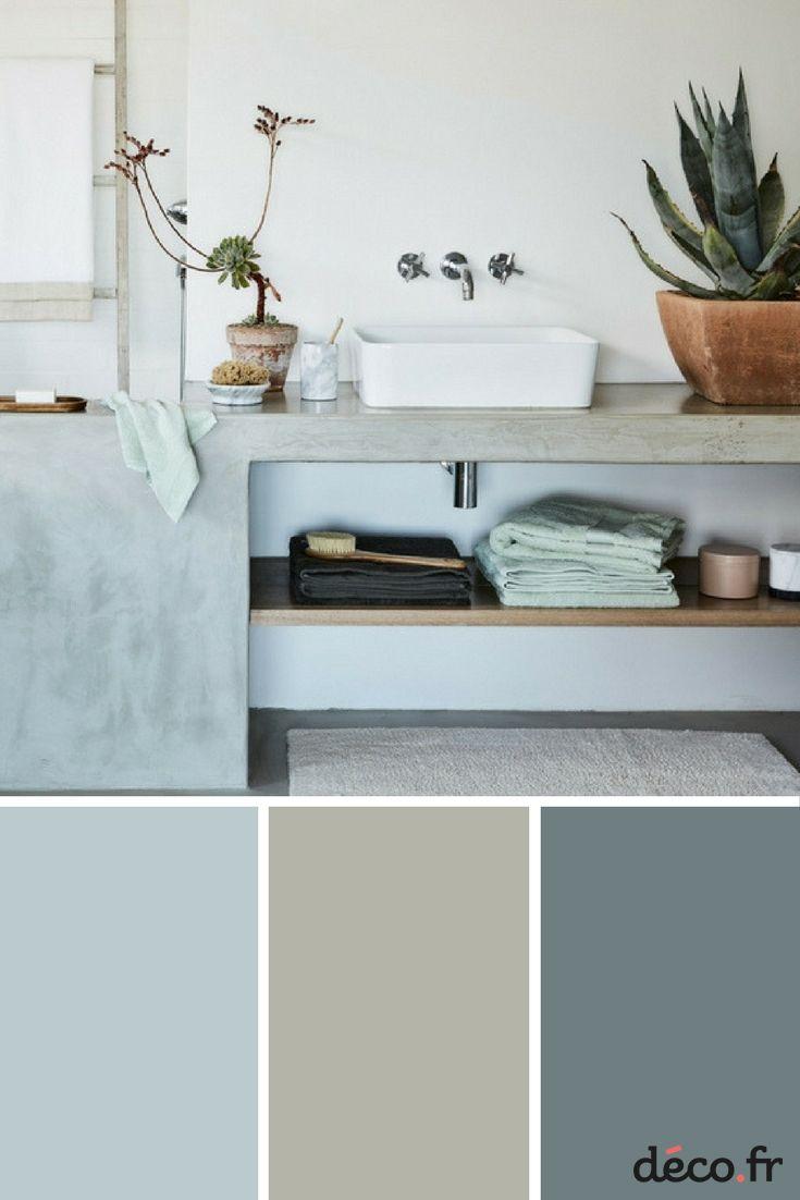 D co salon les couleurs tendances dans la salle de bain for Couleur tendance salle de bain 2017