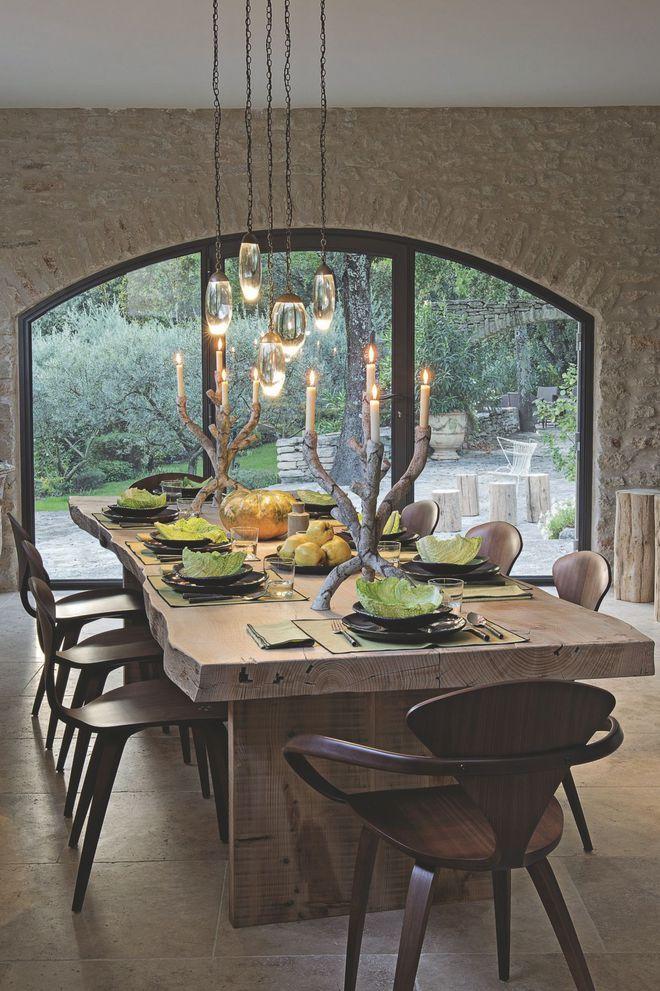 ide dco salle manger rustique interesting luminaire salle a manger rustique pour idees de deco. Black Bedroom Furniture Sets. Home Design Ideas