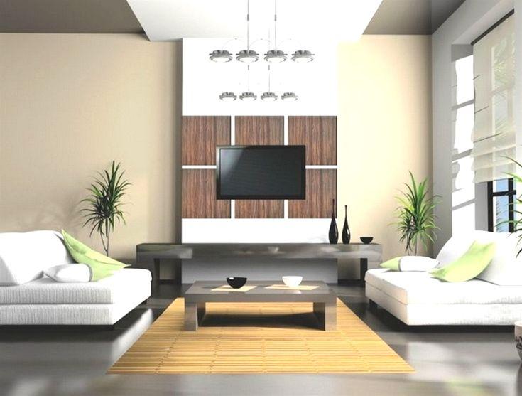 Déco Salon - Decoration Maison Salon Couleur Blanc Et Bois