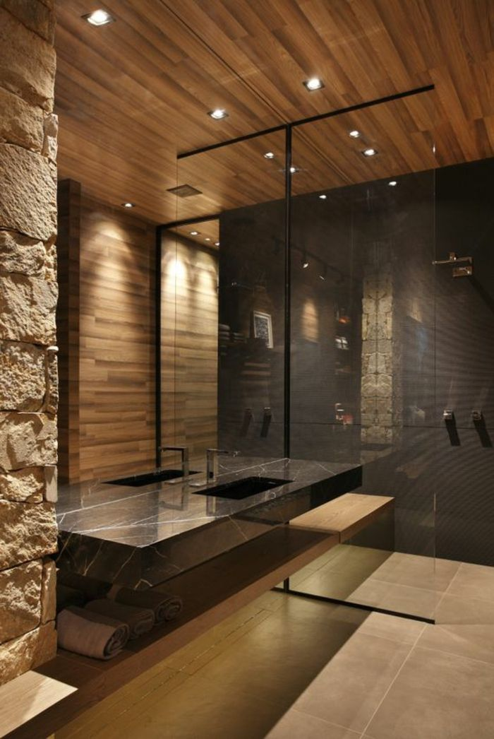 deco murale salle de bain. Black Bedroom Furniture Sets. Home Design Ideas