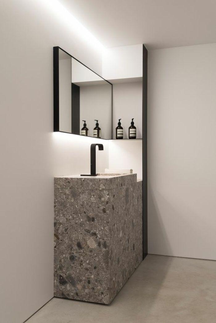 sol effet miroir free carrelage gris brillant effet miroir avec carrelage blanc brillant. Black Bedroom Furniture Sets. Home Design Ideas