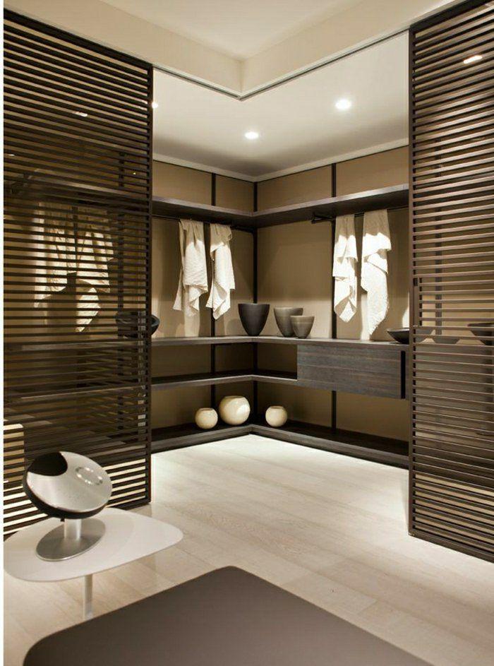 Idée Décoration Salle De Bain - Porte Coulissante En Bois, Salle